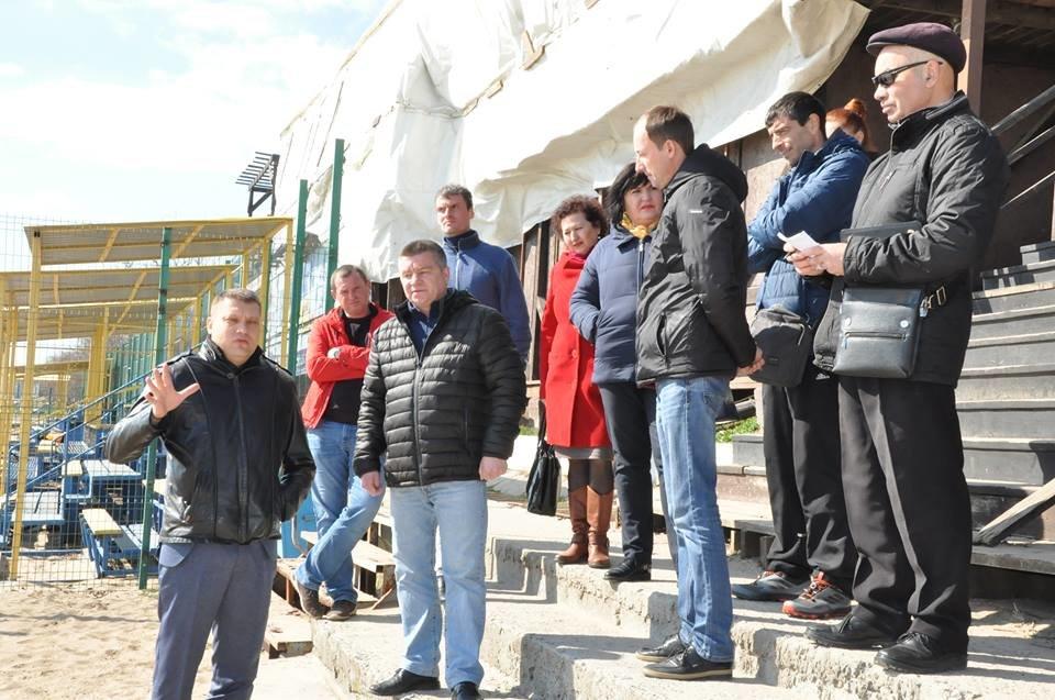 В Черноморске восстановят площадку для пляжных видов спорта, фото-1