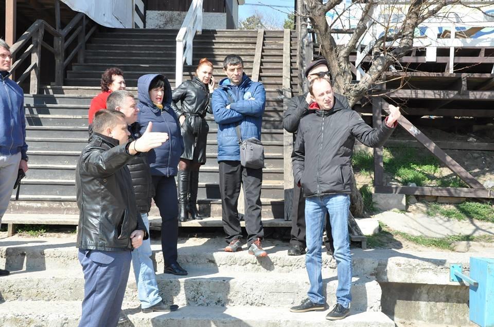 В Черноморске восстановят площадку для пляжных видов спорта, фото-2