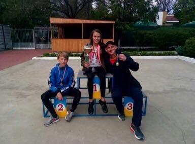 Черноморская команда взяла «золото» на Областной Спартакиаде школьников по легкоатлетическому четырёхборью , фото-6
