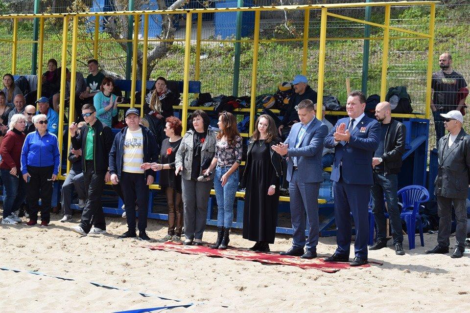В Черноморске состоялось открытие Чемпионата Украины по пляжному волейболу (видео), фото-2