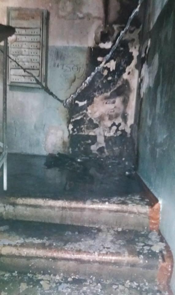 Почему в Черноморске затягивают ремонт сгоревшего подъезда?, фото-3