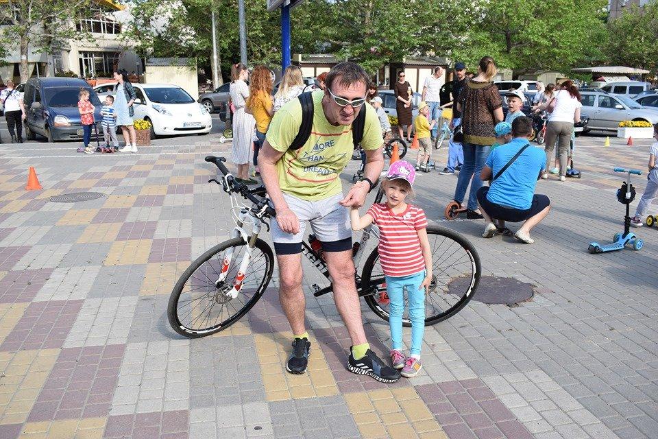В Черноморске прошел семейный праздник «Крути педали!» (видео), фото-14