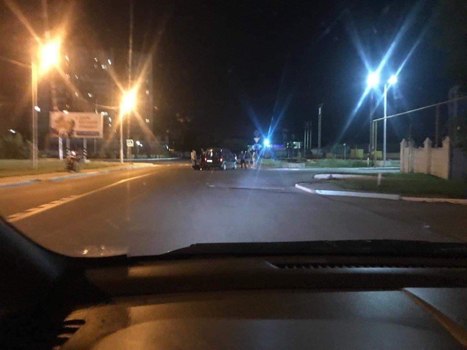 В Черноморске мотоциклист сбежал после ДТП, фото-2