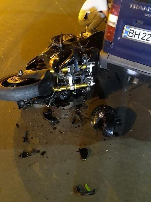 В Черноморске мотоциклист сбежал после ДТП, фото-6