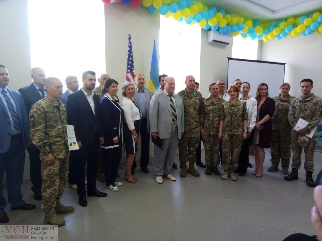 В Одессе открылся Реабилитационный центр для участников АТО, построенный по стандартам НАТО, фото-1