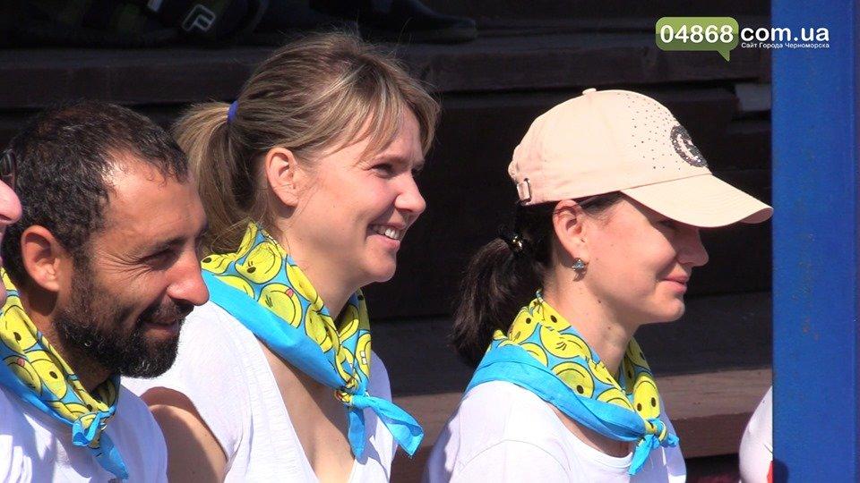 В Черноморске прошел спортивный праздник «Папа, мама, я  - здоровая семья!», фото-4