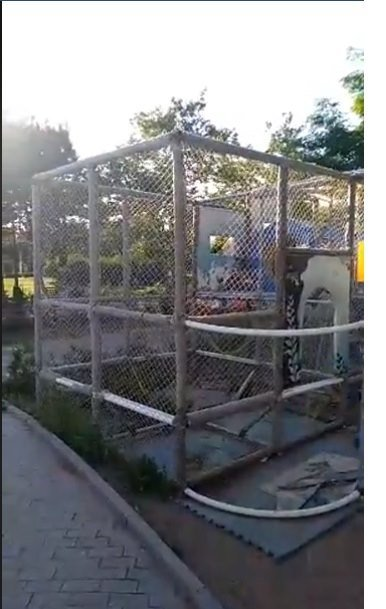 В Черноморске остались небезопасные детские площадки , фото-1