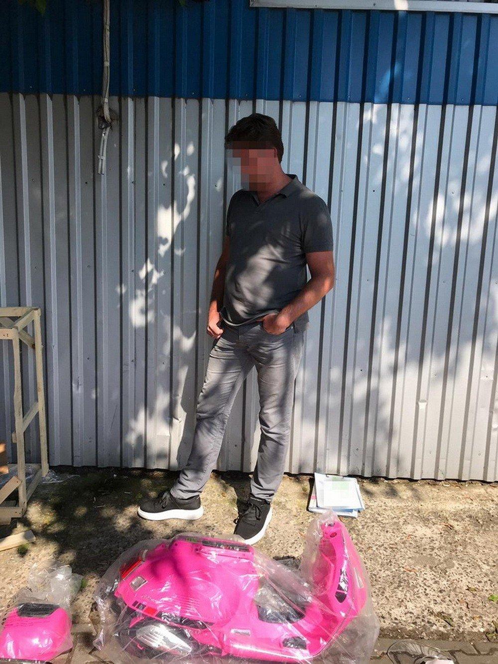 Житель Одесской области пытался провезти 4,5 тысячи таблеток экстази в детском велосипеде, фото-4