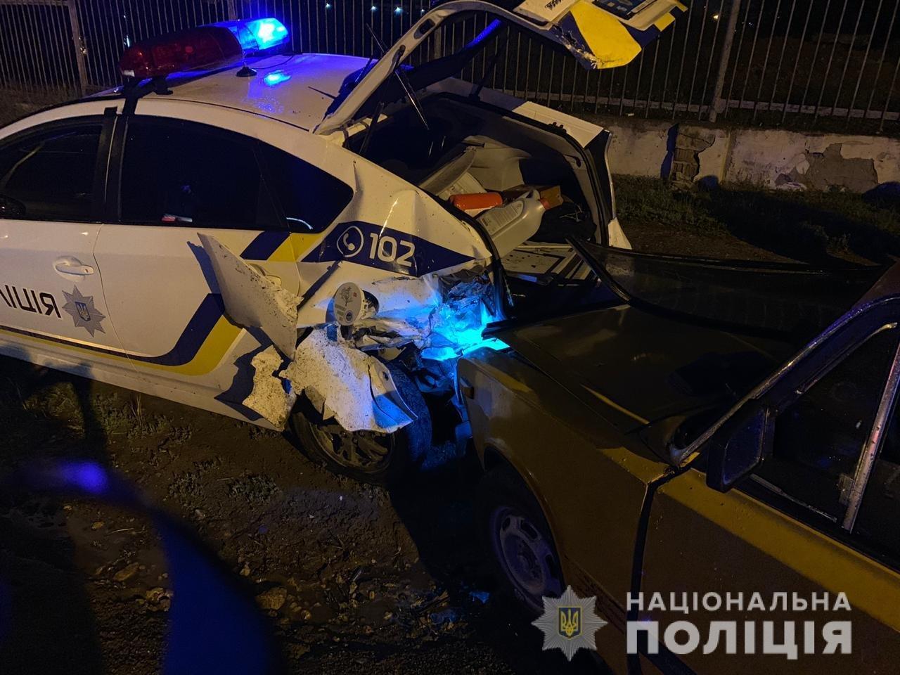 ДТП под Черноморском: пострадал полицейский, фото-1