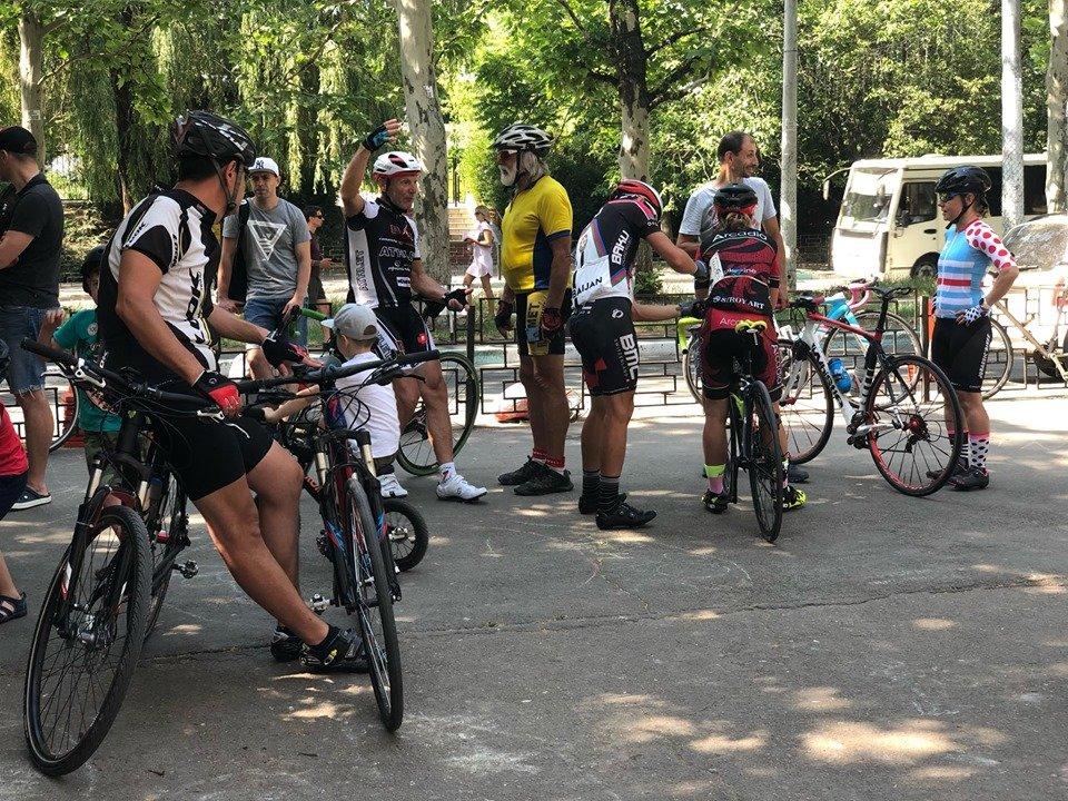 В Черноморске прошел критериум по велоспорту (видео), фото-6