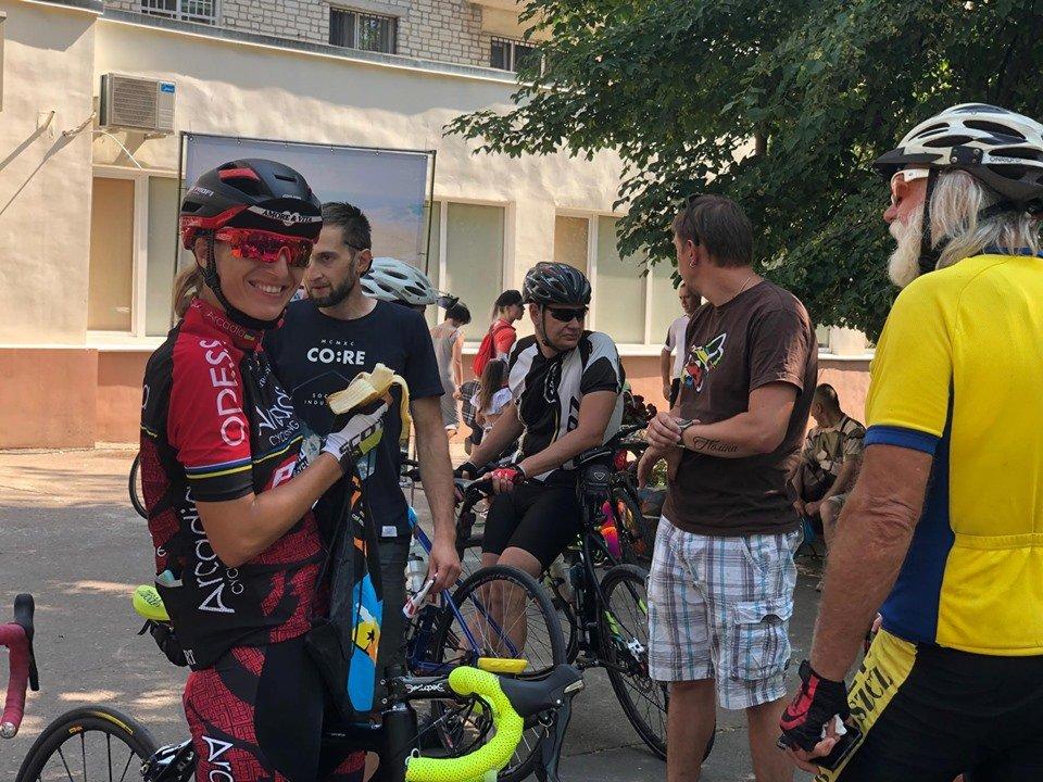 В Черноморске прошел критериум по велоспорту (видео), фото-8