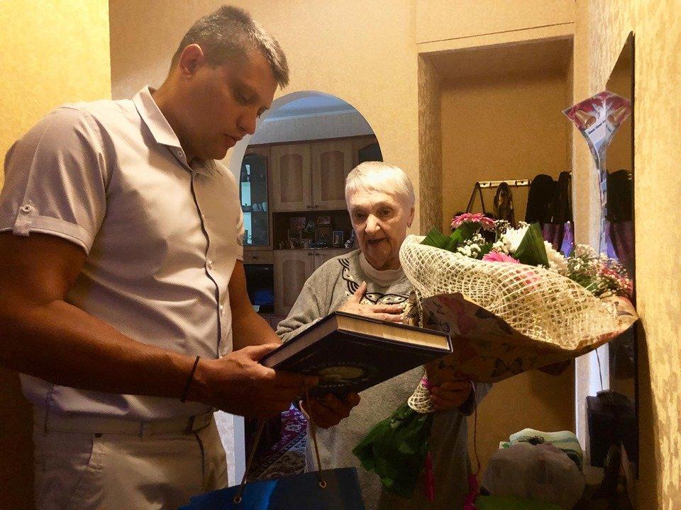 Почетная жительница Черноморска отметила свое 85-летие , фото-1