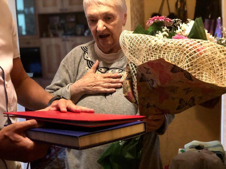 Почетная жительница Черноморска отметила свое 85-летие , фото-2