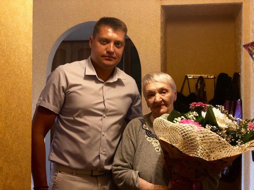 Почетная жительница Черноморска отметила свое 85-летие , фото-5