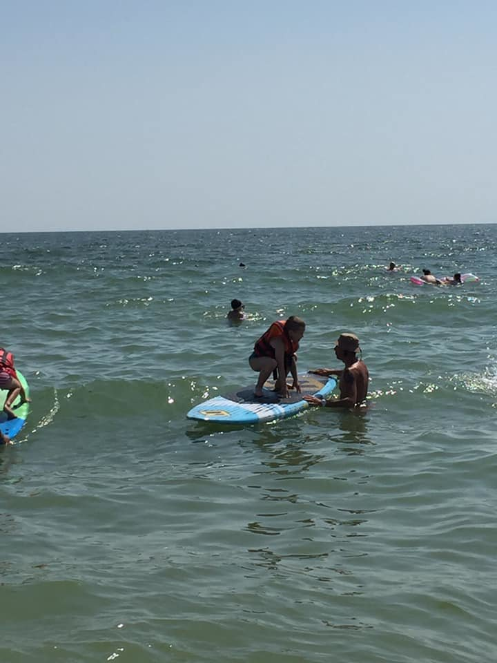 Мастер-класс по серфингу в Черноморске, фото-4