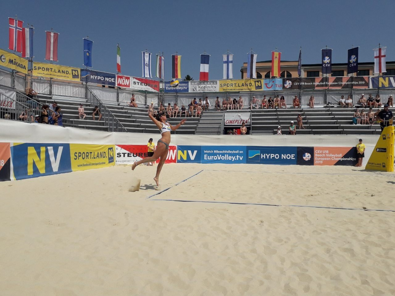 Черноморские волейболистки приняли участие в Чемпионате Европы, фото-1