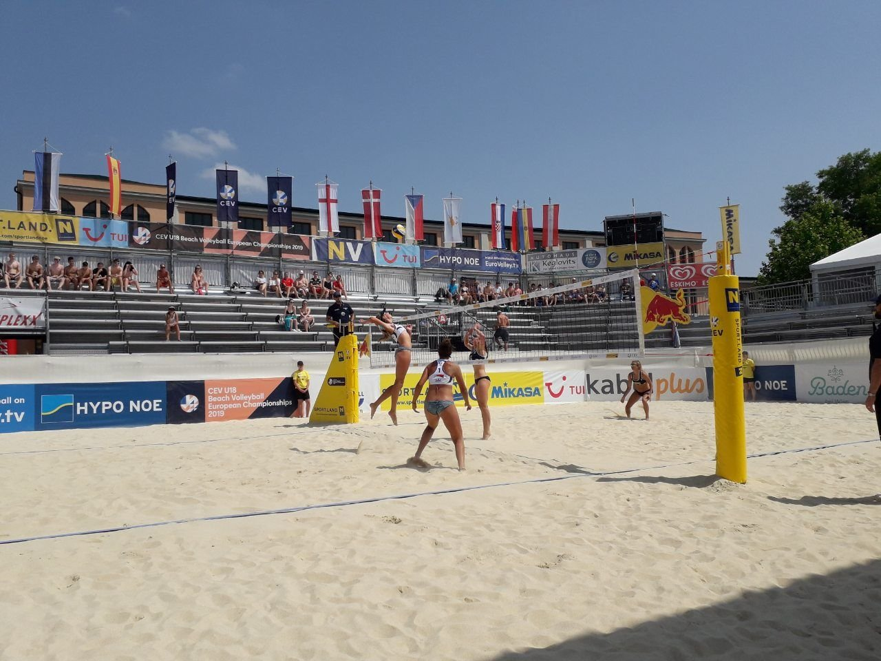 Черноморские волейболистки приняли участие в Чемпионате Европы, фото-3