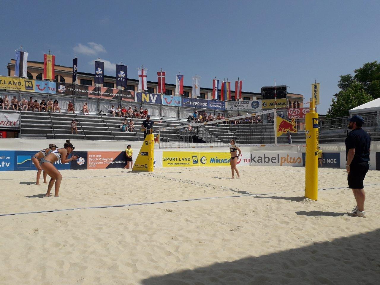 Черноморские волейболистки приняли участие в Чемпионате Европы, фото-4