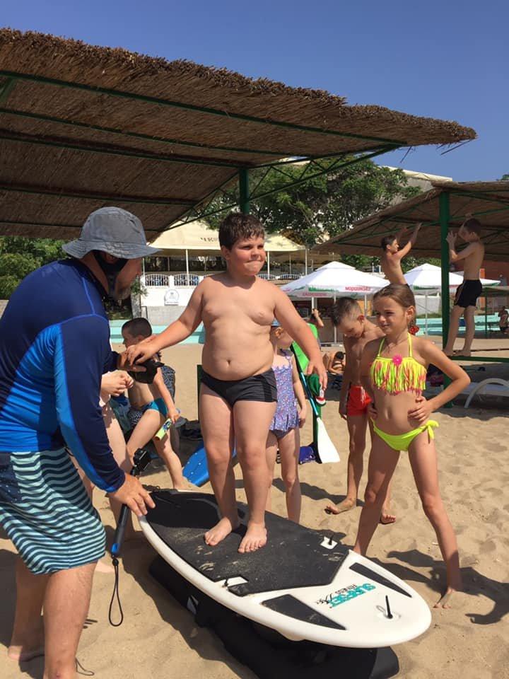 Мастер-класс по серфингу в Черноморске, фото-5