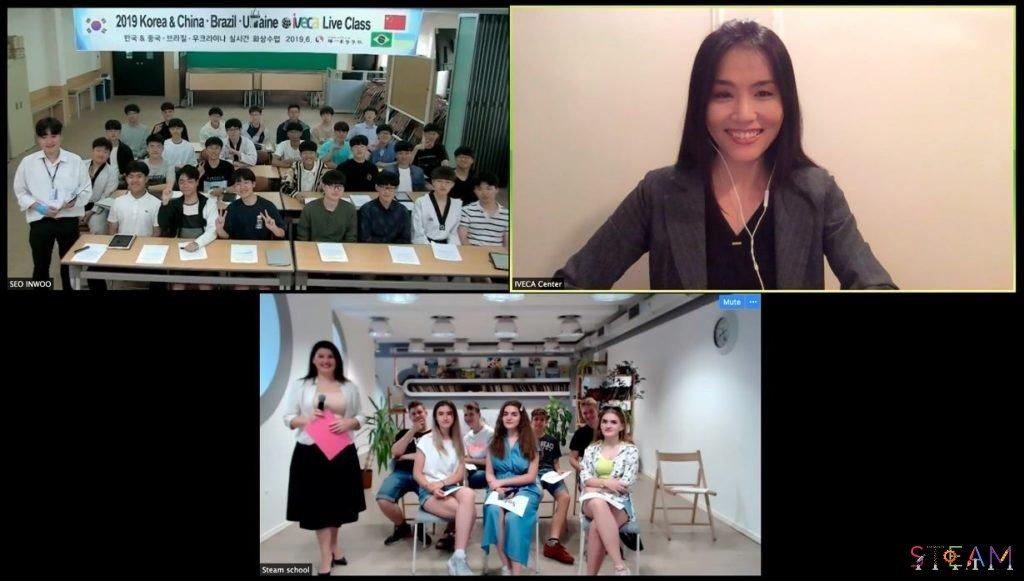 Школьники Черноморска и Южной Кореи обсудили ухудшение климата, фото-1