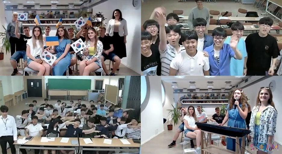 Школьники Черноморска и Южной Кореи обсудили ухудшение климата, фото-2