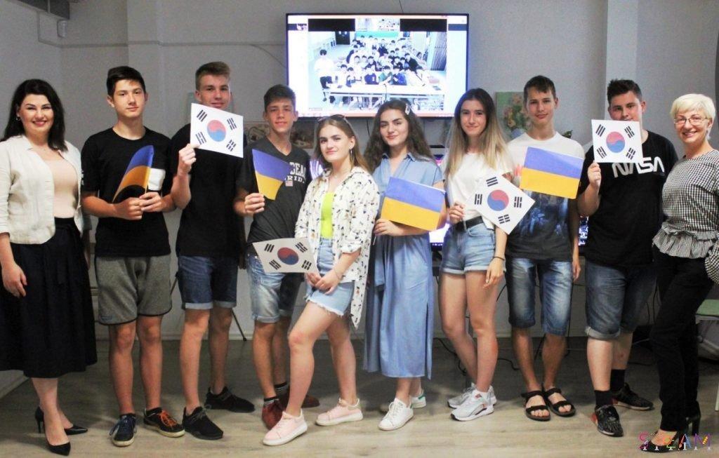 Школьники Черноморска и Южной Кореи обсудили ухудшение климата, фото-3