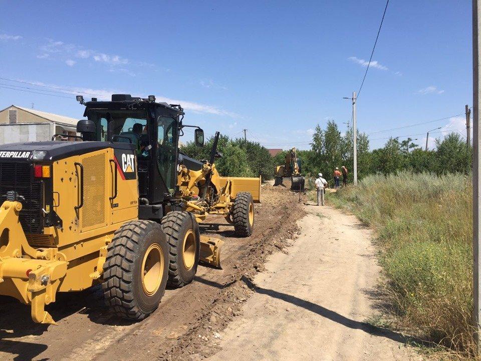Облагораживание дорог под Черноморском, фото-3