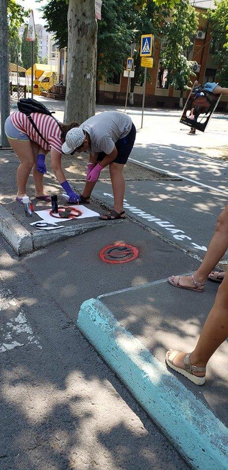 Стоп, пешеход! В Черноморске напоминают, что нужно останавливаться перед пешеходным переходом, фото-8