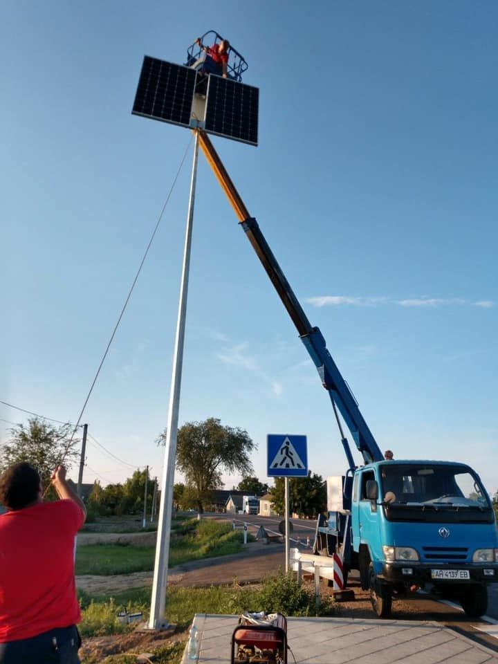 В Одесской области устанавливают автономную систему освещения, фото-4