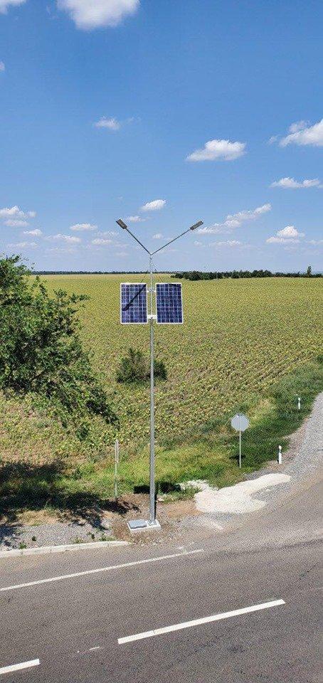 Черноморский «Илкомсвит» установил автономные системы освещения в Одесской области, фото-7