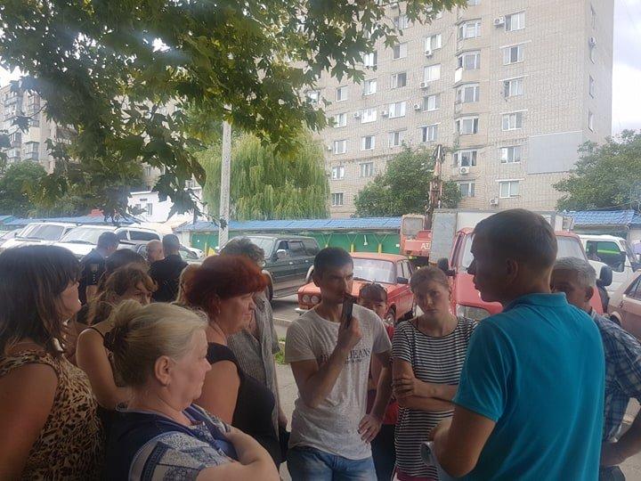 В Черноморске на «Вечернем» рынке снесут павильоны (+видео), фото-6