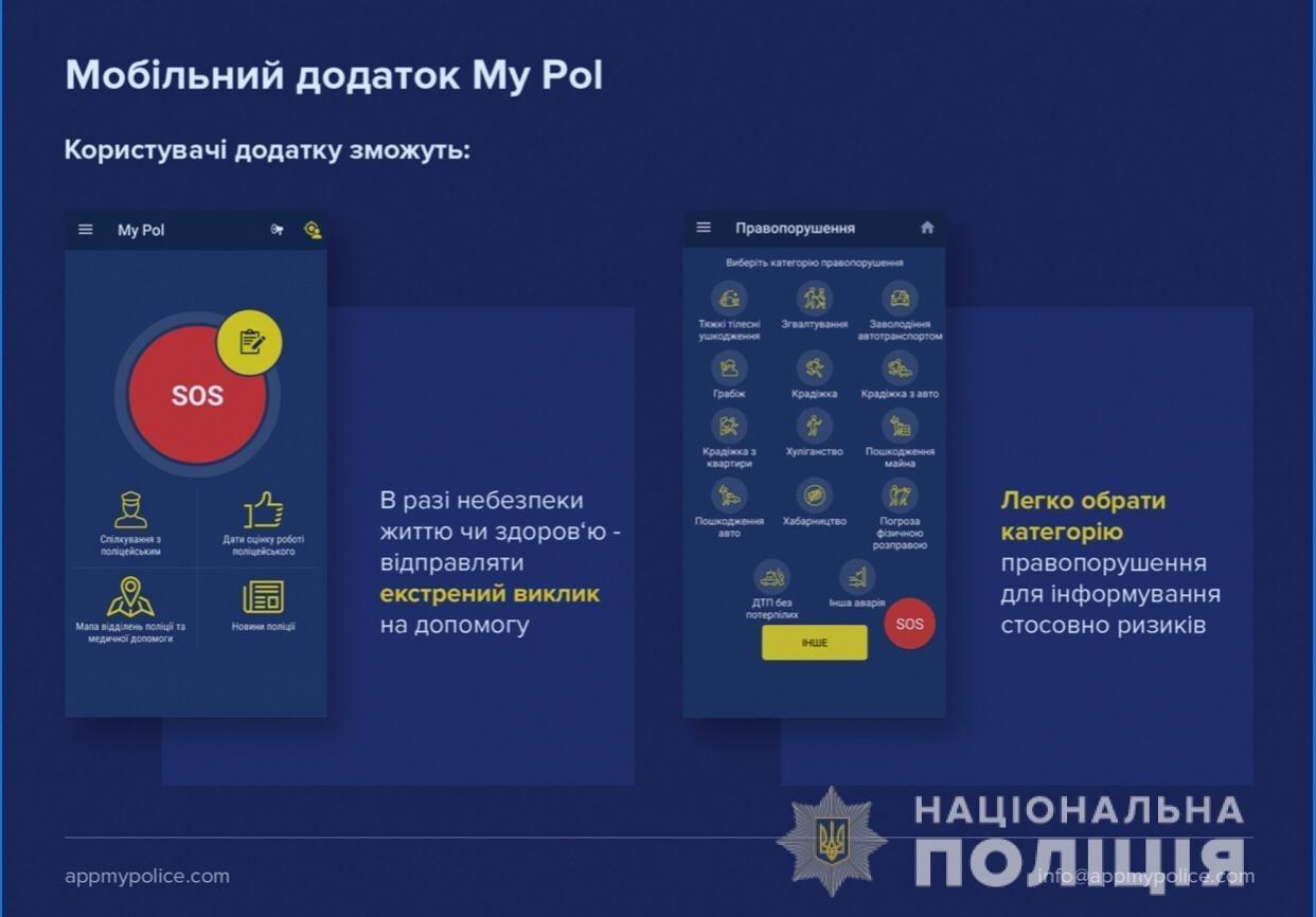 Жители Черноморска смогут вызвать полицию одним касанием , фото-1