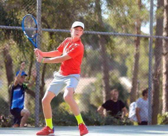 Теннисист из Черноморска вошел в ТОП-3 европейского рейтинга, фото-1