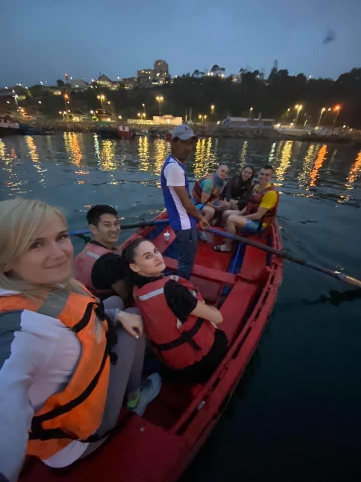 Каратистка из Черноморска приняла участие в соревнованиях в Чили, фото-1
