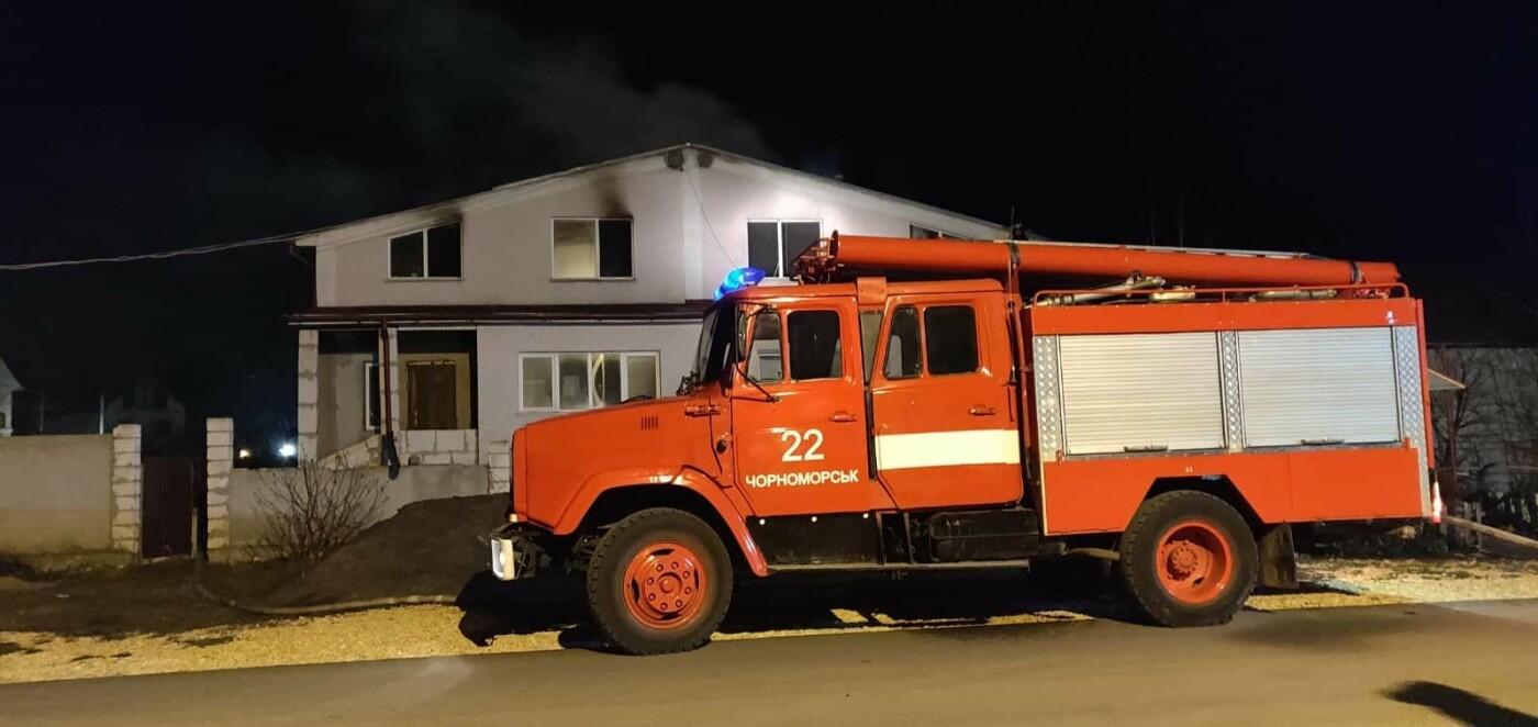 Пожар под Черноморском: горел двухэтажный дом, фото-2