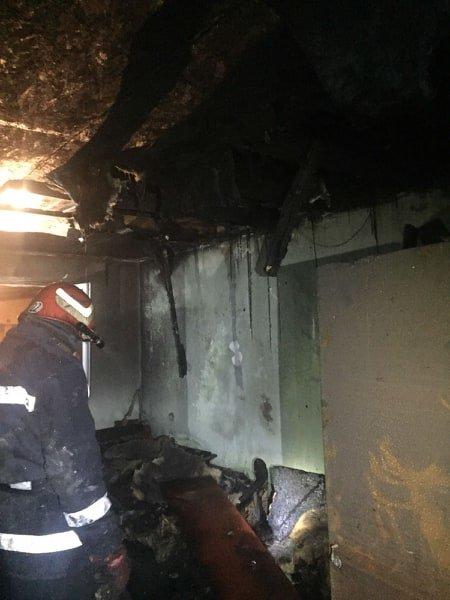 Пожар под Черноморском: горел двухэтажный дом, фото-3
