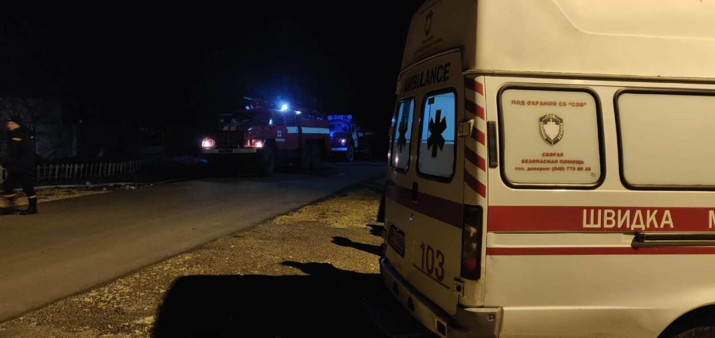 Пожар под Черноморском: горел двухэтажный дом, фото-4