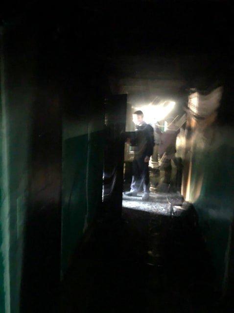В Черноморске при пожаре погиб мужчина (Обновляется), фото-1