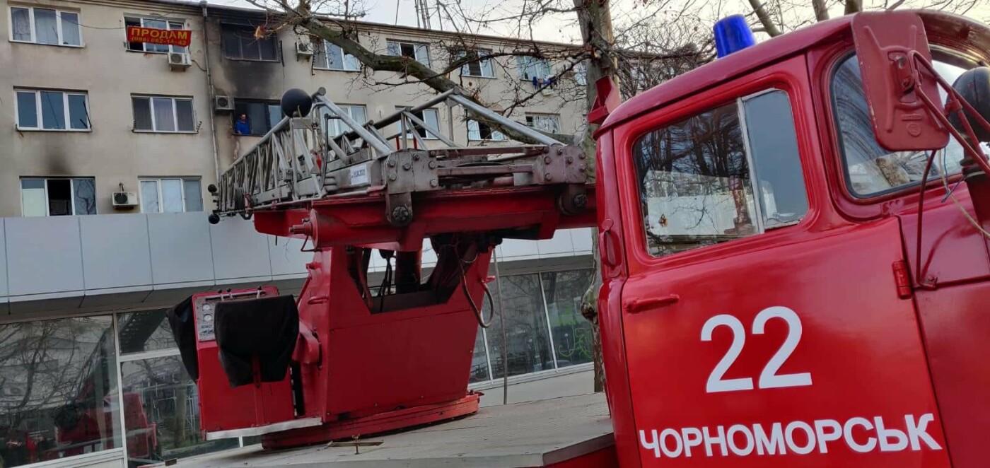 В Черноморске при пожаре погиб мужчина (Обновляется), фото-7