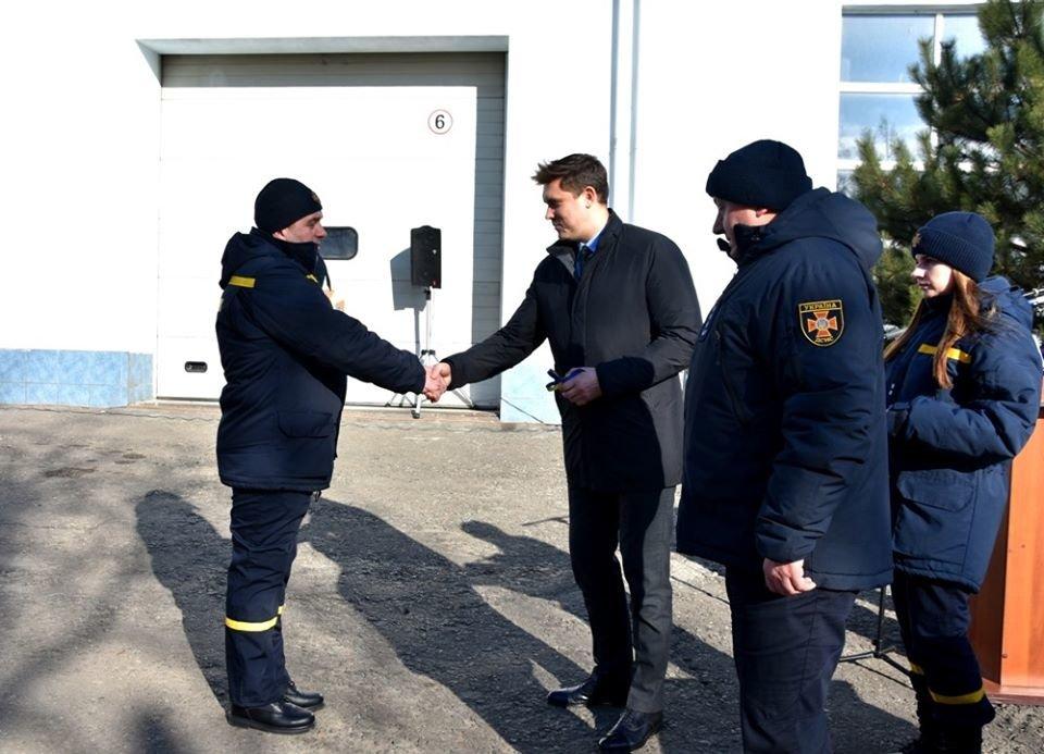 Снегоболотоход и автогрейдер: спасателям Одесской области вручили новую технику , фото-1