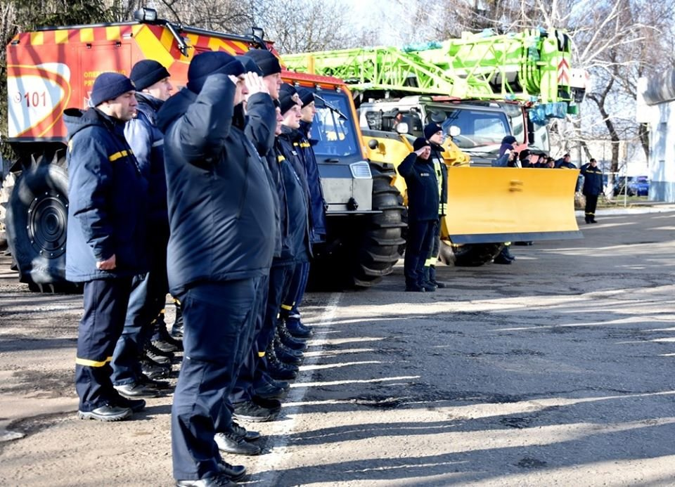 Снегоболотоход и автогрейдер: спасателям Одесской области вручили новую технику , фото-3