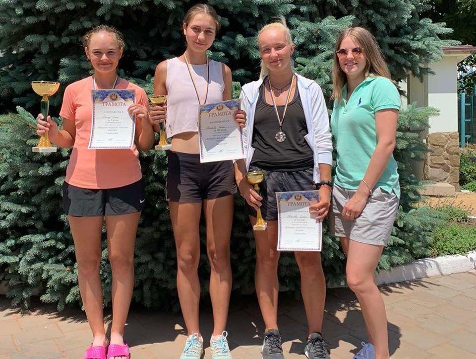 Теннисисты из Черноморска – призёры турнира Одесской области, фото-1