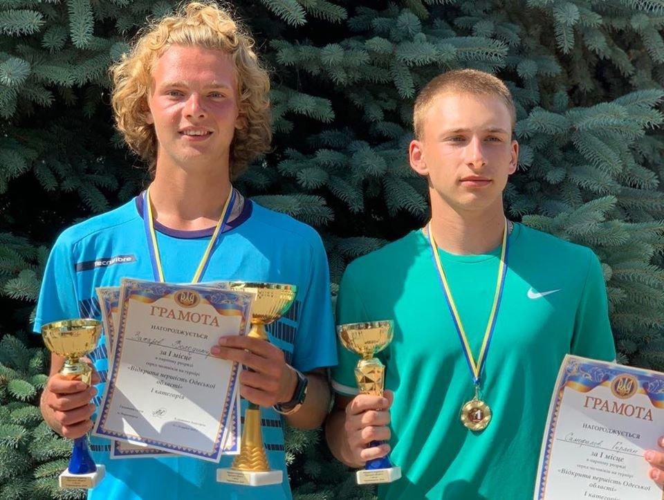 Теннисисты из Черноморска – призёры турнира Одесской области, фото-6