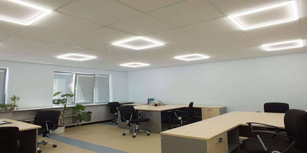Светодиодное освещение для офиса, фото-1