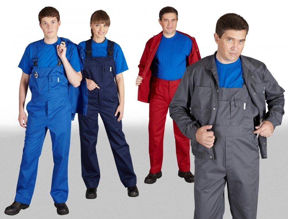 Промышленная рабочая одежда