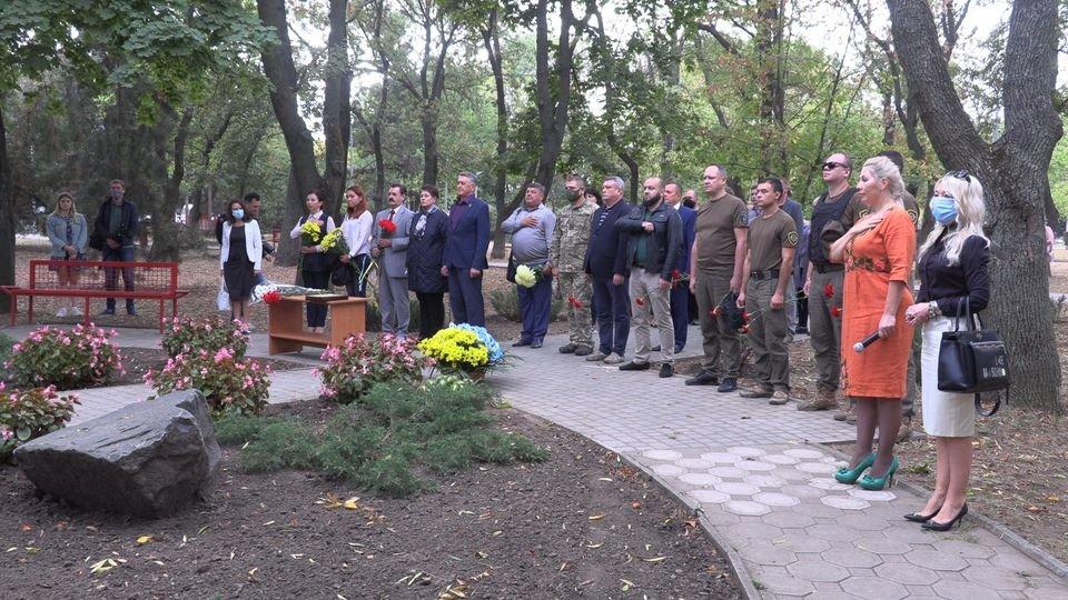 В Черноморске чтят защитников Родины (видео), фото-1