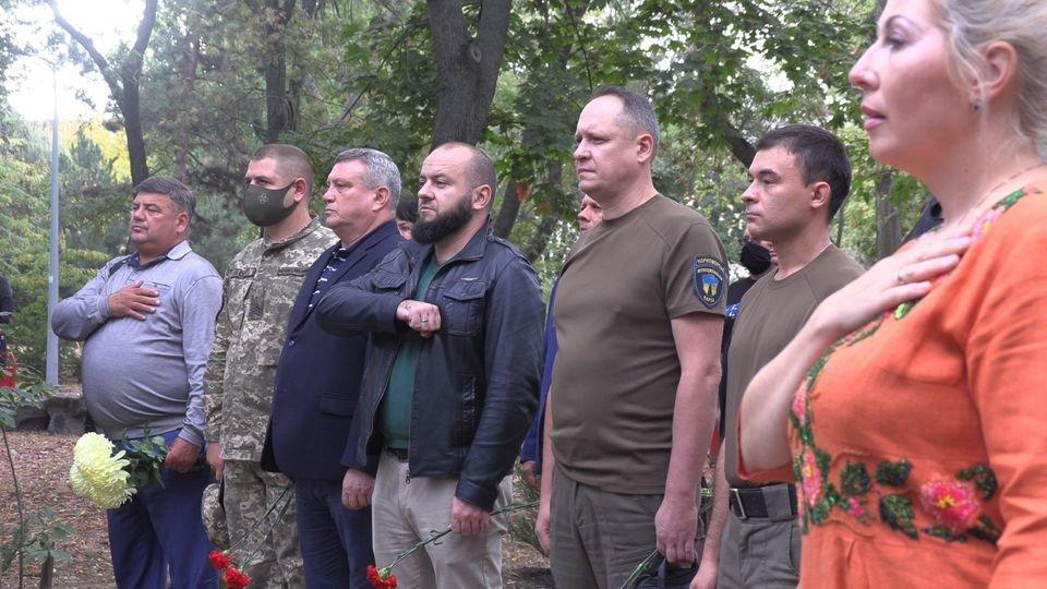 В Черноморске чтят защитников Родины (видео), фото-3