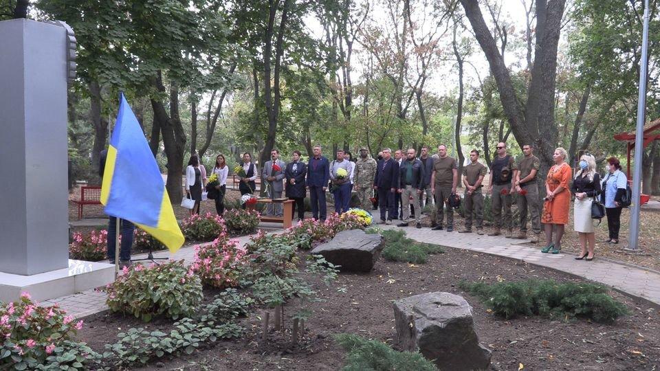 В Черноморске чтят защитников Родины (видео), фото-4