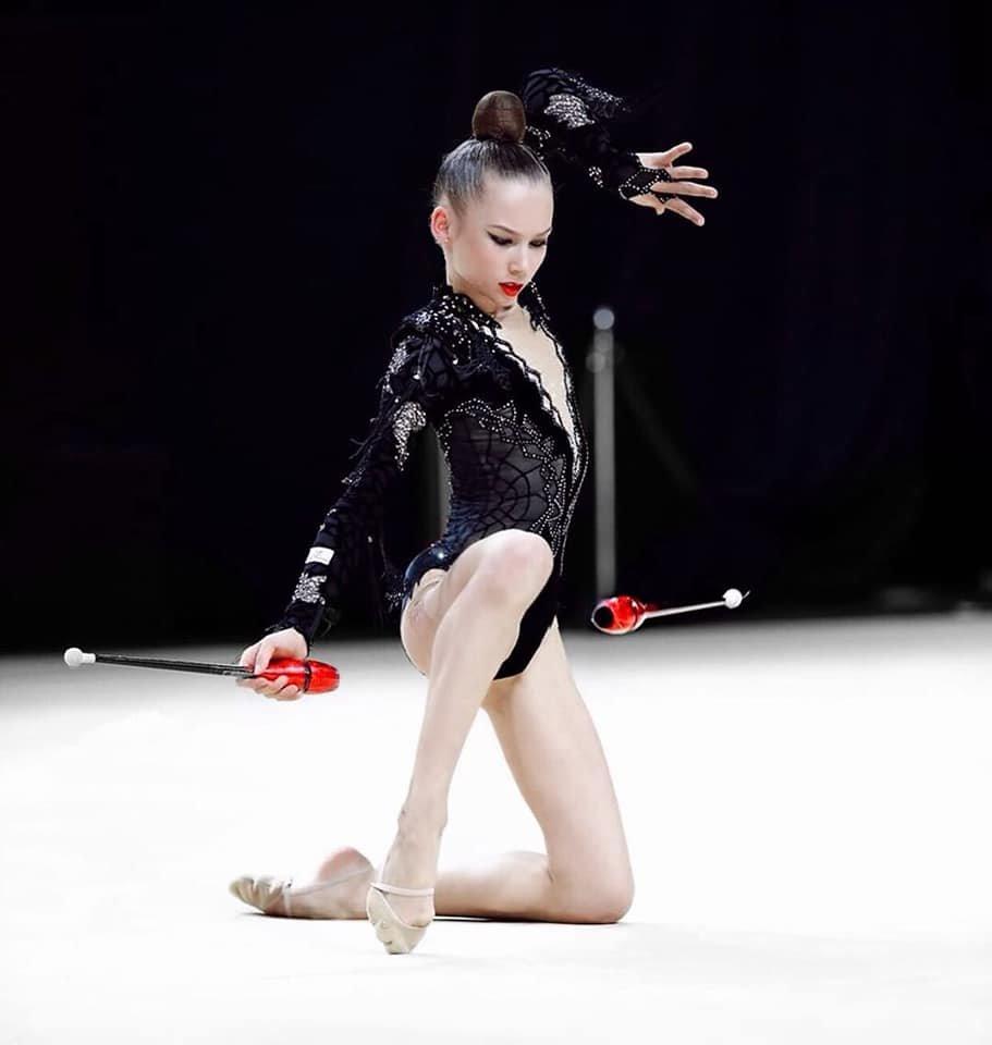 Гимнастка из Черноморска получила бронзовую медаль на чемпионате Украины, фото-2