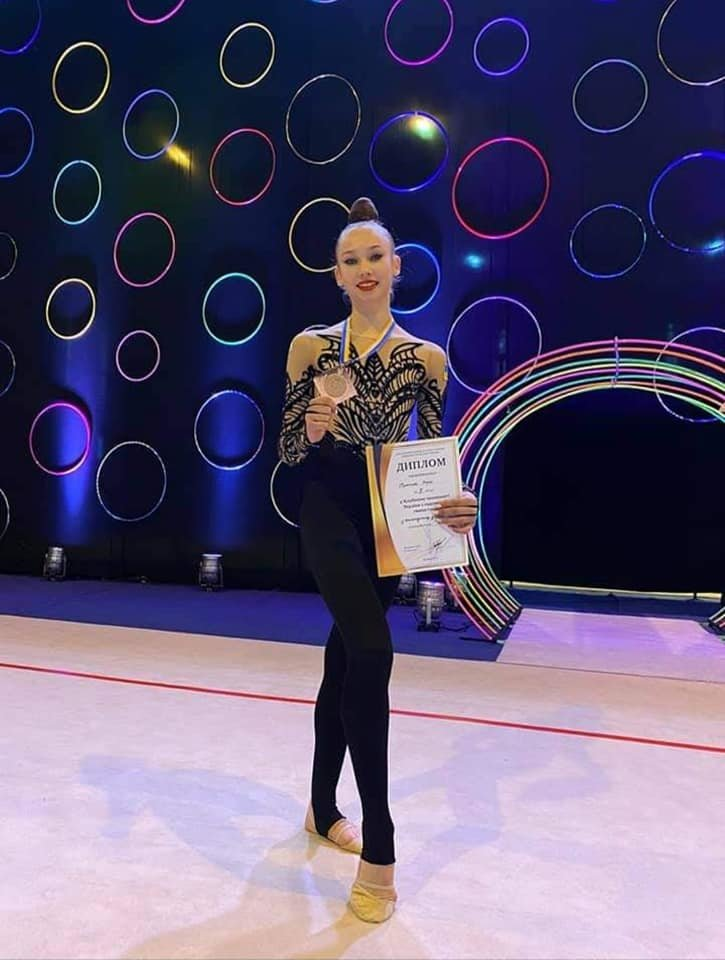 Гимнастка из Черноморска получила бронзовую медаль на чемпионате Украины, фото-3